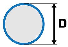 tyč kruhová